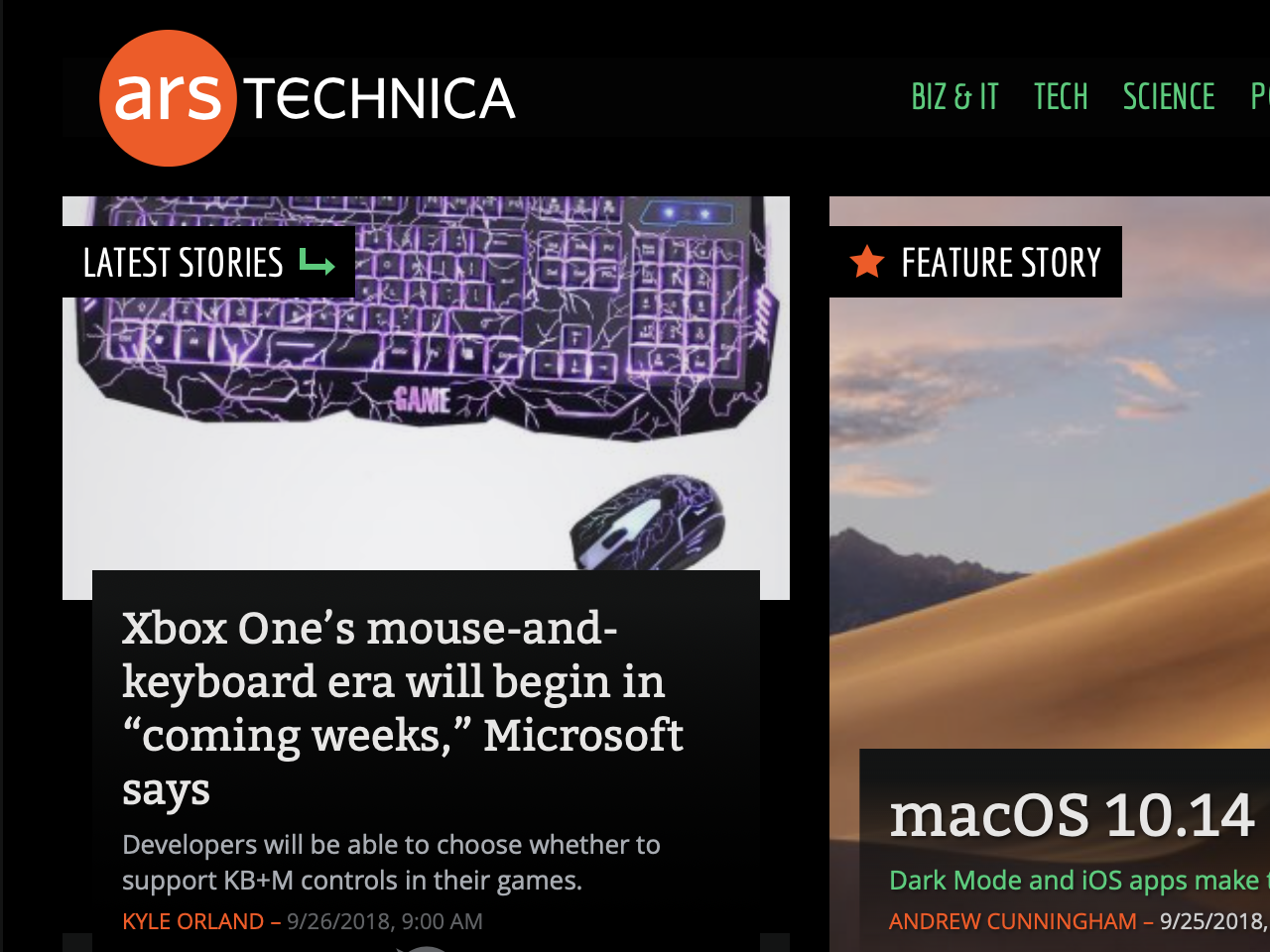 ArsTechnica ignored by DMS
